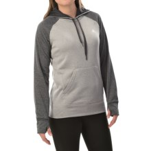 adidas outdoor Ultimate Pullover Hoodie (For Women) in Mgh Solid Grey/Dgh Solid Grey - Closeouts
