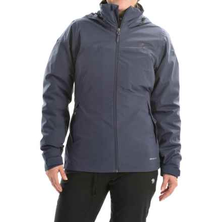 adidas outdoor Wandertag 3-in-1 Jacket - Waterproof, Insulated (For Women) in Midnight Grey - Closeouts