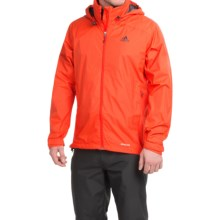 adidas outdoor Wandertag Jacket - Waterproof (For Men) in Dark Orange - Closeouts