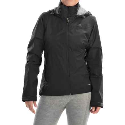 adidas outdoor Wandertag Jacket - Waterproof (For Women) in Black - Closeouts