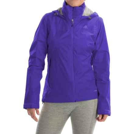 adidas outdoor Wandertag Jacket - Waterproof (For Women) in Night Flash - Closeouts