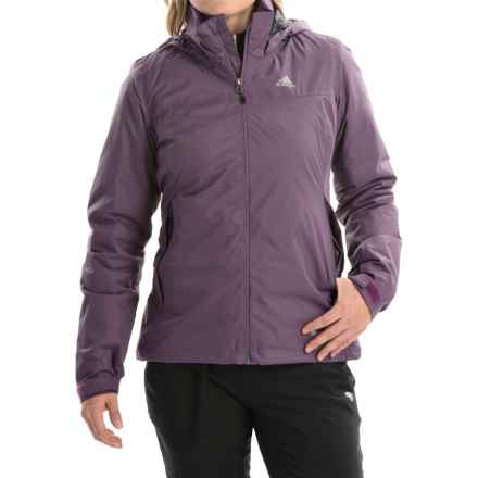 adidas outdoor Wandertag Jacket - Waterproof, Insulated (For Women) in Ash Purple - Closeouts
