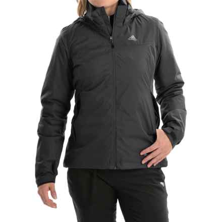adidas outdoor Wandertag Jacket - Waterproof, Insulated (For Women) in Black - Closeouts