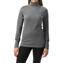 adidas outdoor Xperior Active Shirt - Mock Neck, Long Sleeve (For Women) in Vista Grey - Closeouts