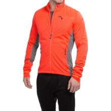 adidas outdoor Xperior Jacket - Windproof (For Men) in Solar Red/Bold Orange - Closeouts