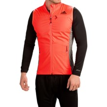 adidas outdoor Xperior Windstopper® Vest (For Men) in Solar Red/Bold Orange - Closeouts