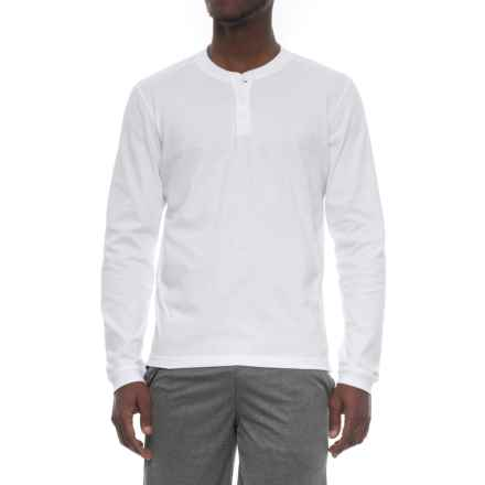 adidas Perforated-Back Shirt - Long Sleeve (For Men) in White - Closeouts