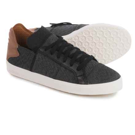 adidas Pharrell Williams Vulc Lace-Up Shoes (For Men) in Black/Granite - Closeouts