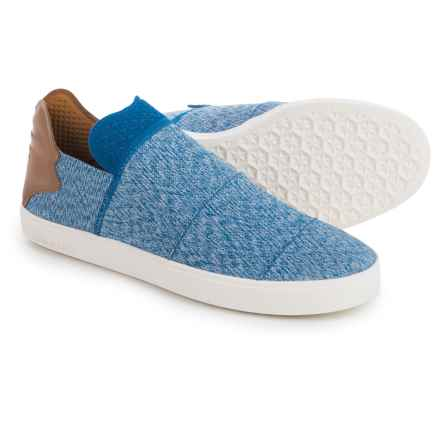adidas Pharrell Williams Vulc Shoes - Slip-Ons (For Men) in Blue/Grey - Closeouts