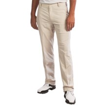 Adidas Pocket Golf Pants - Flat Front (For Men) in Ecru/White - Closeouts