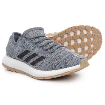 adidas PureBOOST All Terrain Trail Running Shoes (For Men) in Cloud White/Core Black/Grey Three - Closeouts