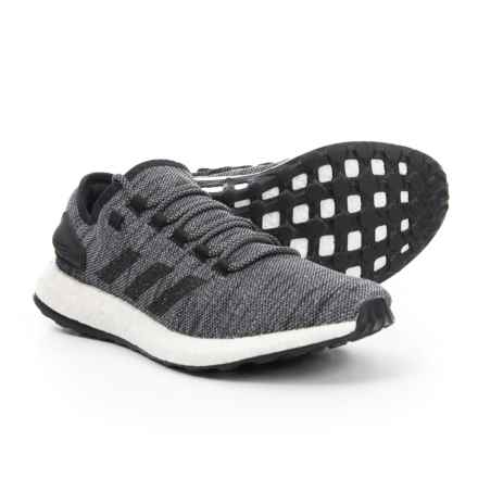 adidas PureBOOST All Terrain Trail Running Shoes (For Men) in Core Black/Core Black/Grey Three - Closeouts