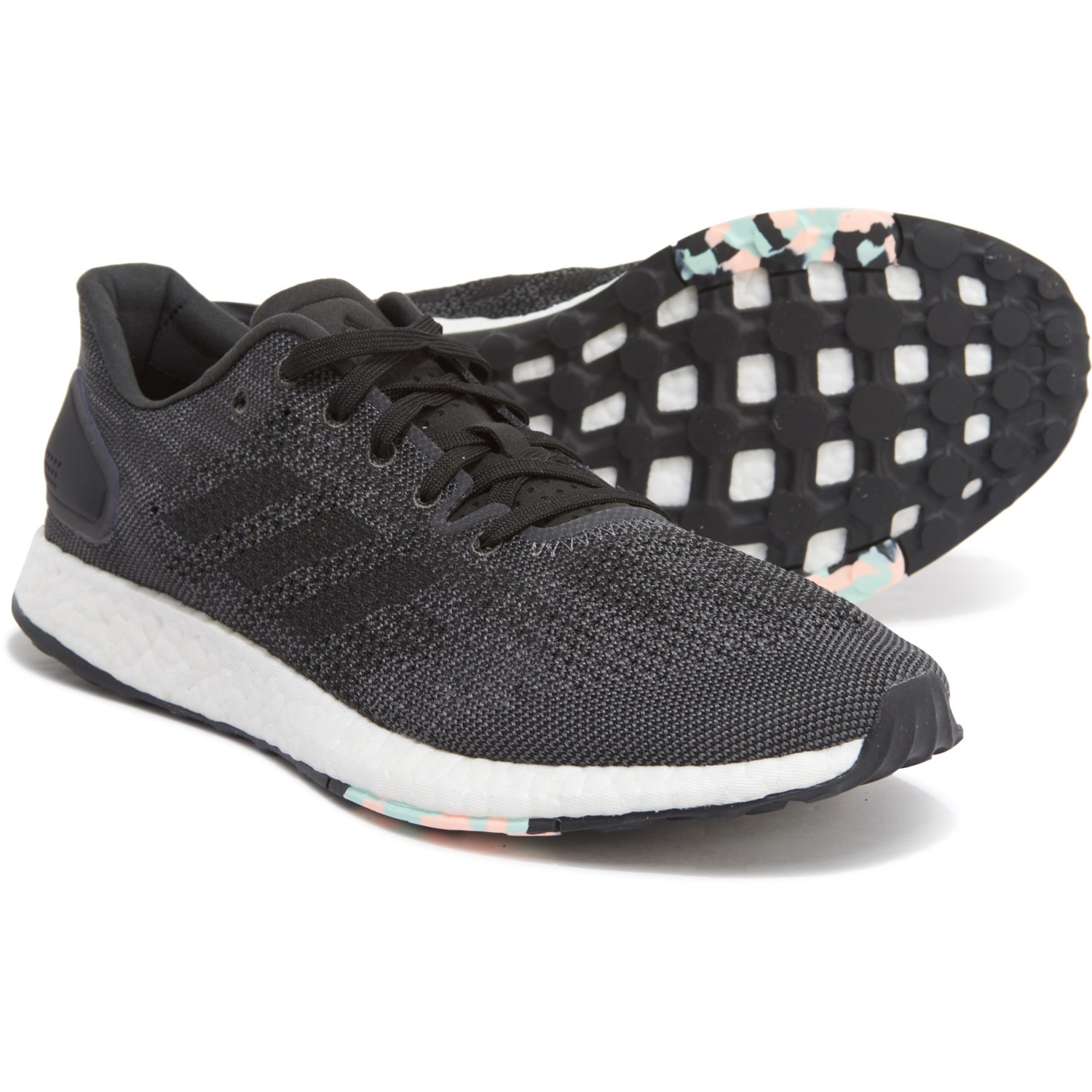 """ADIDAS PURE BOOST DPR """"CORE BLACK"""" $75.00 FREE SHIPPING"""