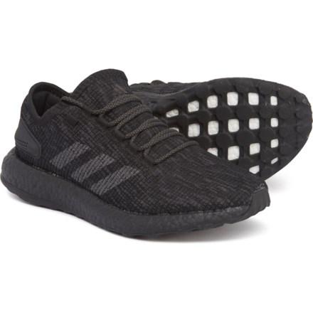 901f172e1b018 adidas PureBOOST Running Shoes (For Men) in Core Black Core Black Core