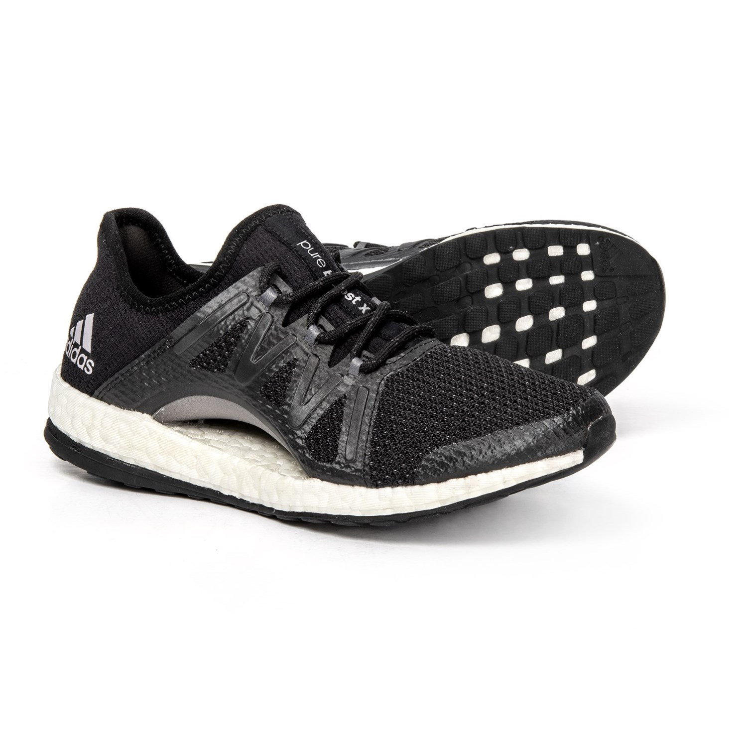 a940c23c4daa4 adidas PureBOOST Xpose Running Shoes (For Women) in Core Black Core Black