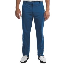 Adidas Puremotion Golf Pants - Flat Front (For Men) in Midnight - Closeouts