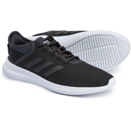 aa54d4f1ce9 adidas QT Flex Running Sneakers (For Women) in Carbon Carbon Core Black
