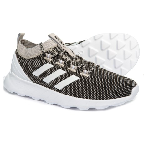 4d5c7746ea9 adidas Questar Rise Running Shoes (For Men) in Black White Light Brown