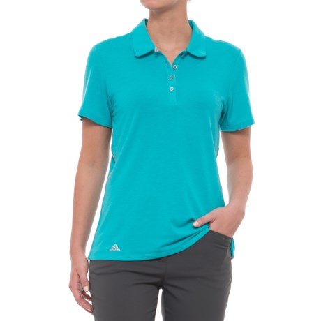 adidas Rangewear Polo Shirt - Short Sleeve (For Women) in Energy Blue