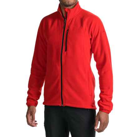adidas Reachout Fleece Jacket (For Men) in Scarlet - Closeouts