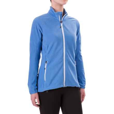 adidas Reachout Microfleece Jacket - Full Zip (For Women) in Ray Blue - Closeouts