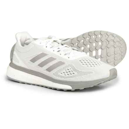 adidas Response Limited Running Shoes (For Women) in Cloud White/Silver Metallic/Clear Onix - Closeouts