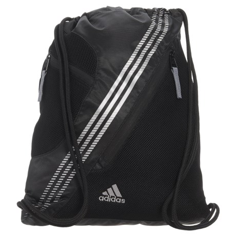adidas Revel II Sackpack in Black/Silver