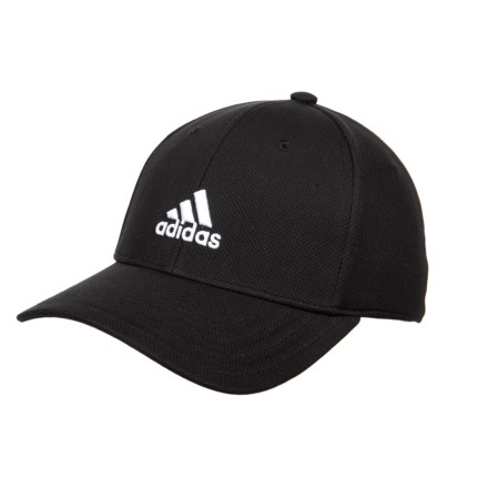 a6a946d1bf8 adidas Rucker Stretch Fit Baseball Cap (For Men) in Black White