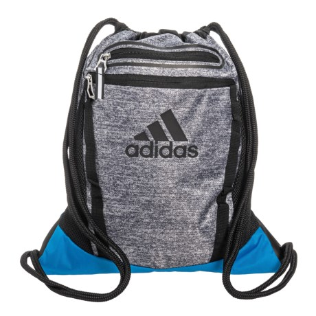 adidas Rumble II Sackpack in Onix Jersey Bright Blue Black 8d89d6588e560