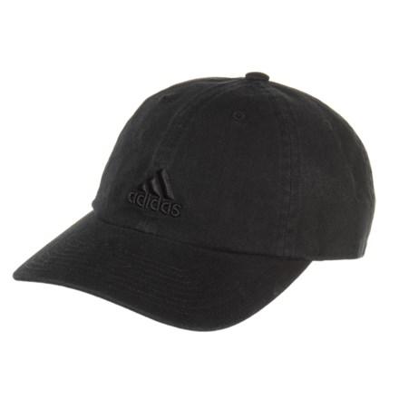 bd98fed1 adidas Saturday Cap (For Women) in Black/Black - Closeouts