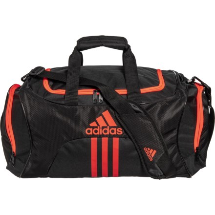 df3a2db6695a adidas Scorer Duffel Bag - Medium in Black Infrared - Closeouts