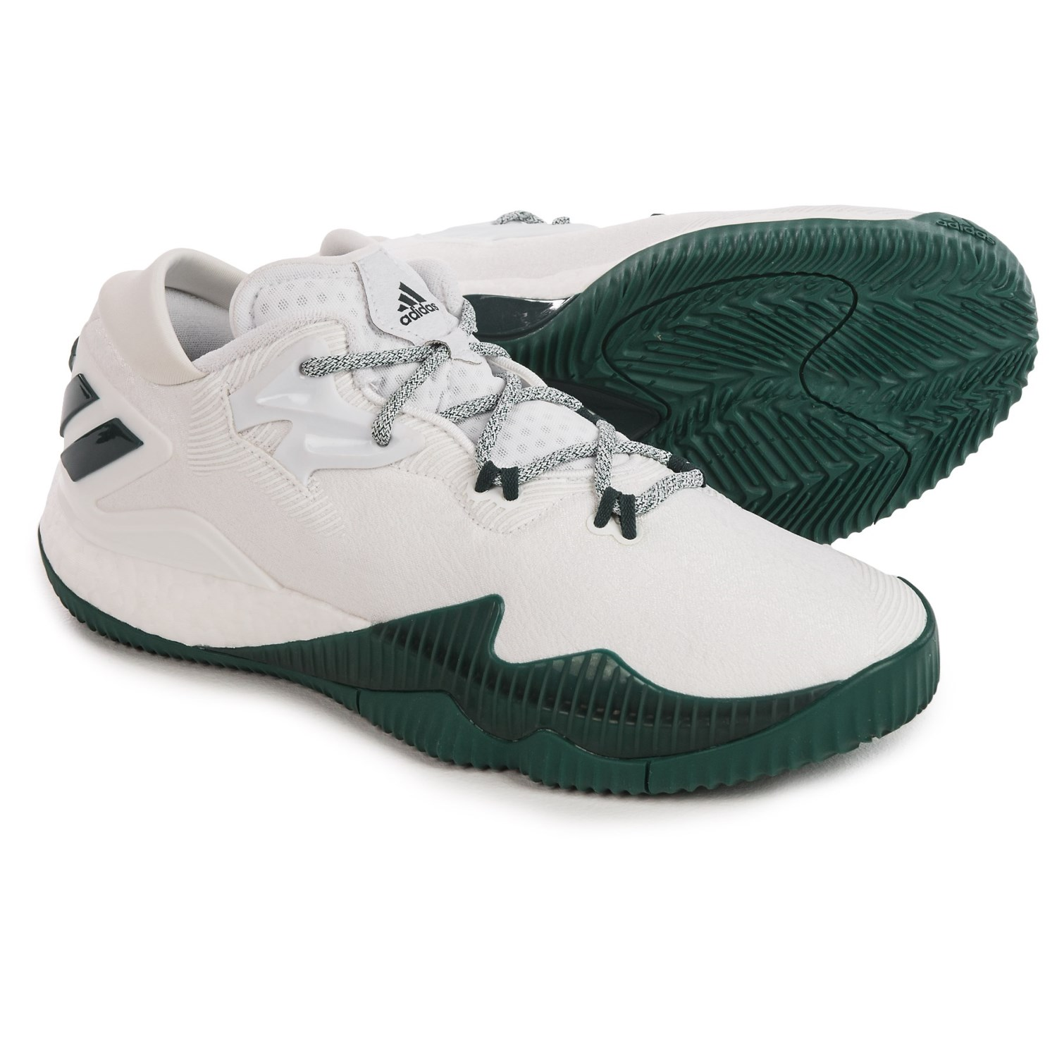 adidas SM Crazylight Boost Low 2016 NBA Basketball Shoes (For Men) in White/ ...  sc 1 st  Sierra Trading Post & adidas SM Crazylight Boost Low 2016 NBA Basketball Shoes (For Men ... azcodes.com