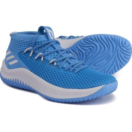 hot sale online 959ea 83474 adidas SM Damian Lillard 4 Basketball Shoes (For Men) in Light Blue Light