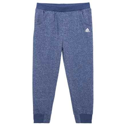 adidas Sparkle Relay Joggers - 7/8 Length (For Big Girls) in Indigo - Closeouts