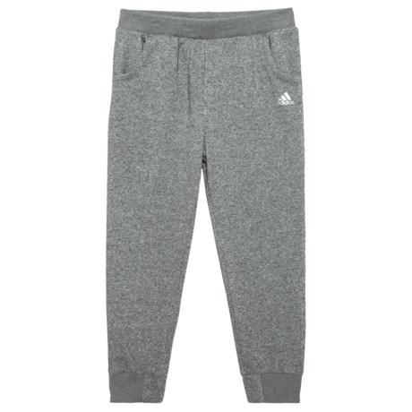 adidas Sparkle Relay Joggers - (For Big Girls) in Dark Grey