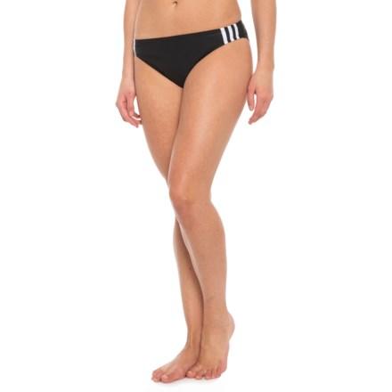 9021d968837e adidas Sport Hipster Bikini Bottoms (For Women) in Black White