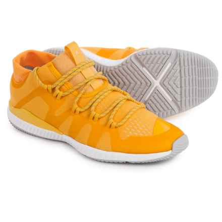 adidas Stella McCartney CrazyTrain BOUNCE Mid Running Shoes (For Women) in Wonder Glow/Wonder Glow - Closeouts