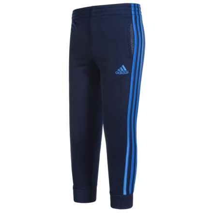 adidas Striped Joggers (For Toddlers) in Navy - Closeouts