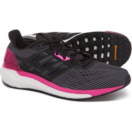 704802a413ed9 adidas Supernova Running Shoes (For Women) in Utility Black Core Black Shock