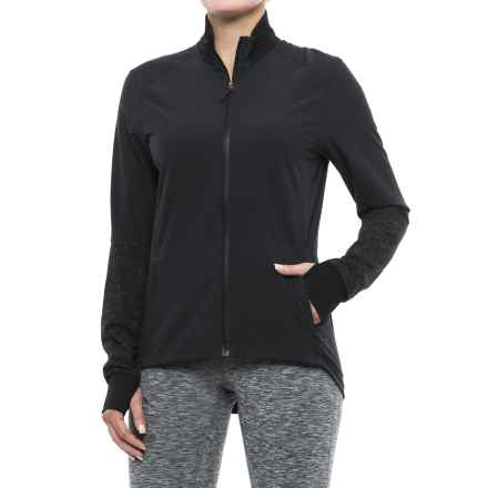 adidas Supernova Storm ClimaLite® Jacket (For Women) in Black - Closeouts