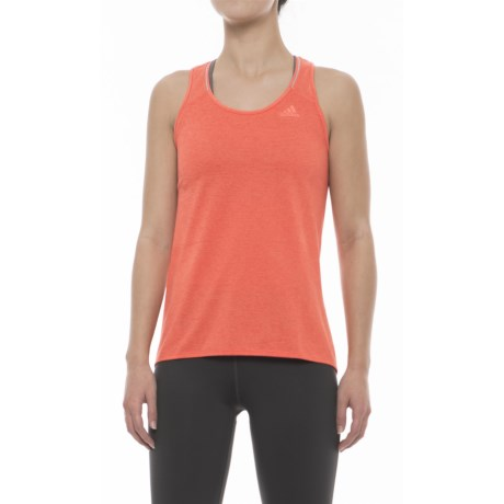 adidas Supernova Tank Top - Racerback (For Women) in Easy Coral