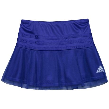 adidas Sweeper Skorts (For Toddler Girls) in Dark Purple