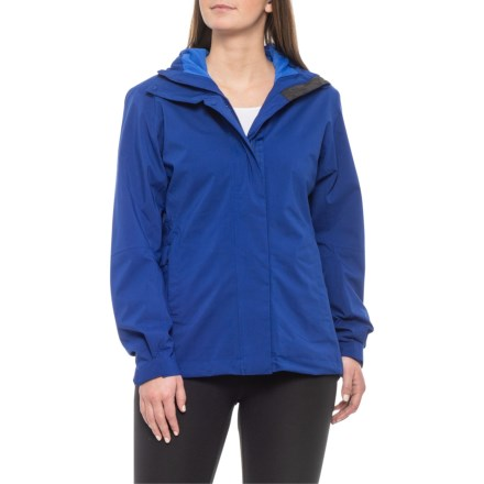 d90d268267fea adidas Swift Parley 2-Layer Jacket - Waterproof (For Women) in Mystery Ink