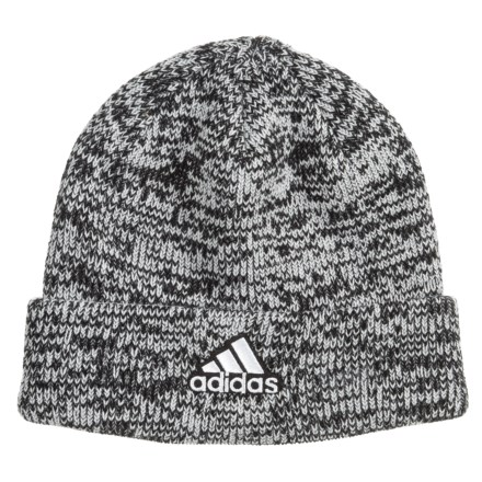 adidas Team Beanie (For Women) in Marbled Grey - Closeouts 1d8482af7abe