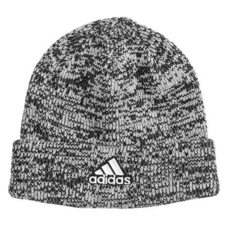 dc87f5f80aa adidas Team Beanie (For Women) in Marbled Grey - Closeouts