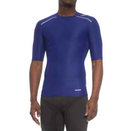 adidas Techfit Chill T-Shirt - Short Sleeve (For Men) in Mystery Ink - Closeouts