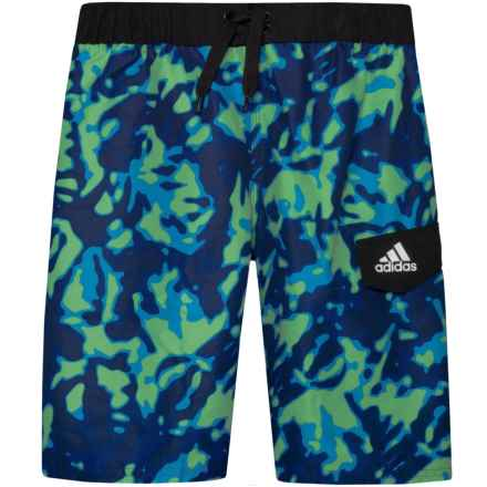 0ee167589f871 adidas Terra Volley Swim Trunks - Royal (For Big Boys) in Royal - Closeouts