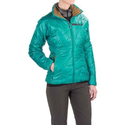 adidas Terrex Agravic PrimaLoft® Jacket (For Women) in Eqt Green - Closeouts