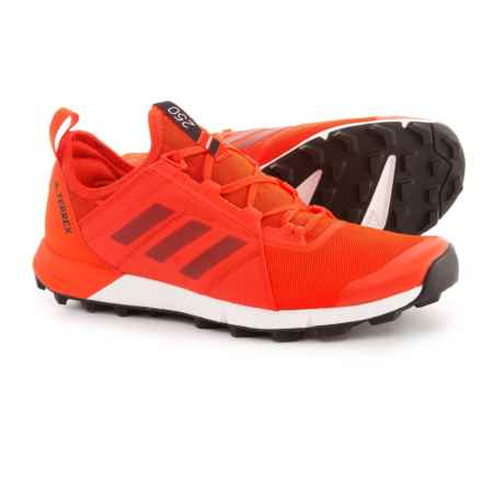adidas Terrex Agravic Speed Trail Running Shoes (For Men) in Energy/Energy/Black - Closeouts