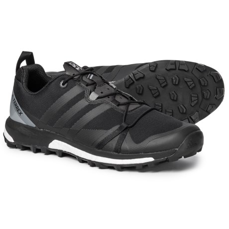 ed61eecdffd804 adidas Terrex Agravic Trail Running Shoes (For Men) in Black Black Vista